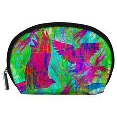 Birds In Flight Accessory Pouch (Large)