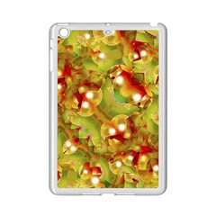 Christmas Print Motif Apple iPad Mini 2 Case (White)