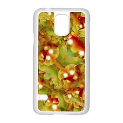 Christmas Print Motif Samsung Galaxy S5 Case (White)