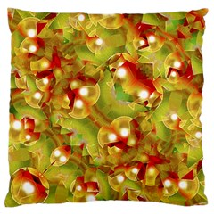 Christmas Print Motif Standard Flano Cushion Case (two Sides)