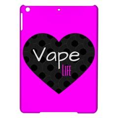 Hot Pink Vape Heart Apple Ipad Air Hardshell Case