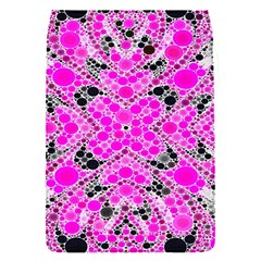 Bling Pink Black Kieledescope  Removable Flap Cover (small)