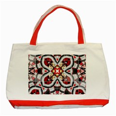 Fashion Girl Red Classic Tote Bag (red)