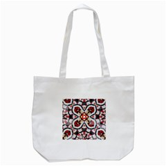 Fashion Girl Red Tote Bag (white)
