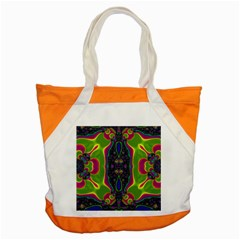 Hippie Fractal  Accent Tote Bag