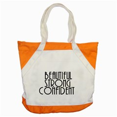 Beautiful Strong Confident  Accent Tote Bag