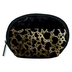 Cheetah Stars Gold  Accessory Pouch (Medium)