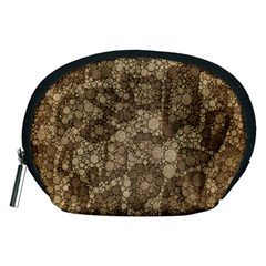 Snake Skin Abstract Accessory Pouch (Medium)