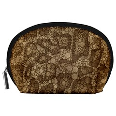Snake Skin Abstract Accessory Pouch (large)