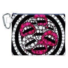 Bling Lips  Canvas Cosmetic Bag (xxl)
