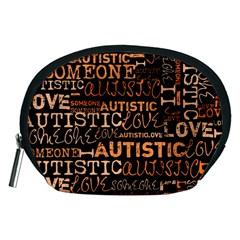 I Love Someone Autistic  Accessory Pouch (Medium)