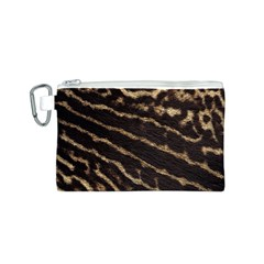 Leopard Texture  Canvas Cosmetic Bag (Small)