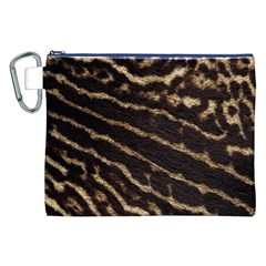 Leopard Texture  Canvas Cosmetic Bag (XXL)