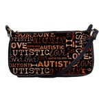 I Love Someone Autistic  Evening Bag Front