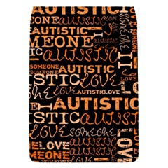 I Love Someone Autistic  Removable Flap Cover (Small)