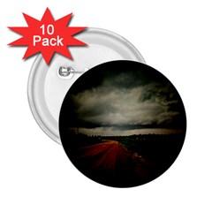 Dark Empty Road 2 25  Button (10 Pack)