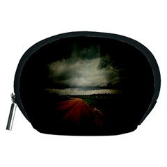 Dark Empty Road Accessory Pouch (medium)