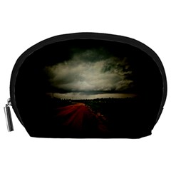 Dark Empty Road Accessory Pouch (Large)