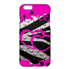 Torn Zebra Heart Apple Iphone 6 Plus Hardshell Case