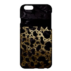 Cheetah Stars Gold  Apple iPhone 6 Plus Hardshell Case