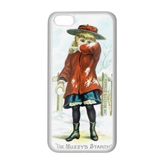 Use Muzzy s Starch Apple iPhone 5C Seamless Case (White)