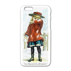 Use Muzzy s Starch Apple iPhone 6 White Enamel Case