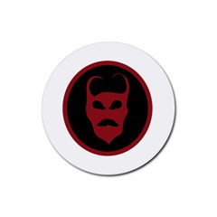 Devil Symbol Logo Drink Coasters 4 Pack (round)