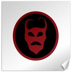 Devil Symbol Logo Canvas 20  X 20  (unframed)
