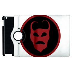 Devil Symbol Logo Apple Ipad 3/4 Flip 360 Case