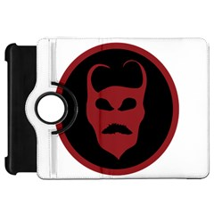 Devil Symbol Logo Kindle Fire HD Flip 360 Case