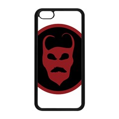Devil Symbol Logo Apple Iphone 5c Seamless Case (black)