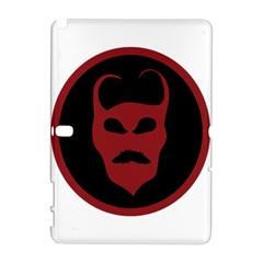 Devil Symbol Logo Samsung Galaxy Note 10.1 (P600) Hardshell Case