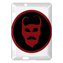Devil Symbol Logo Kindle Fire HDX Hardshell Case