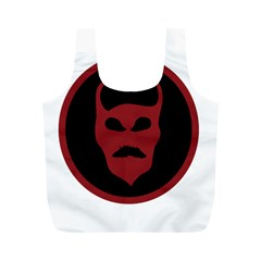 Devil Symbol Logo Reusable Bag (M)