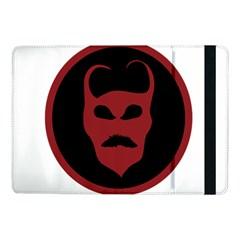 Devil Symbol Logo Samsung Galaxy Tab Pro 10 1  Flip Case