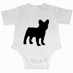 French Bulldog Silo Black Ls Infant Bodysuit