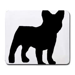 French Bulldog Silo Black Ls Large Mouse Pad (Rectangle)