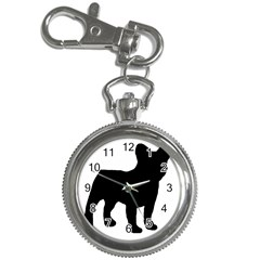 French Bulldog Silo Black Ls Key Chain Watch