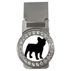 French Bulldog Silo Black Ls Money Clip (CZ)
