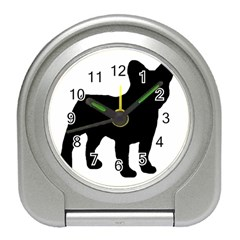 French Bulldog Silo Black Ls Desk Alarm Clock