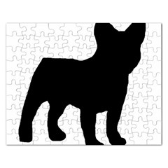 French Bulldog Silo Black Ls Jigsaw Puzzle (Rectangle)