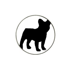 French Bulldog Silo Black Ls Golf Ball Marker 4 Pack (for Hat Clip)