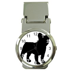French Bulldog Silo Black Ls Money Clip with Watch