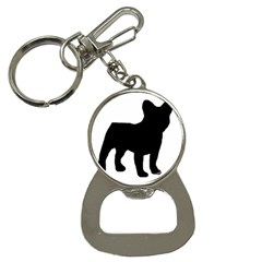 French Bulldog Silo Black Ls Bottle Opener Key Chain