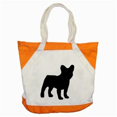 French Bulldog Silo Black Ls Accent Tote Bag