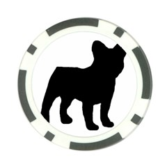 French Bulldog Silo Black Ls Poker Chip (10 Pack)