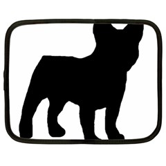 French Bulldog Silo Black Ls Netbook Sleeve (XL)