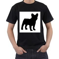 French Bulldog Silo Black Ls Men s T-shirt (Black)