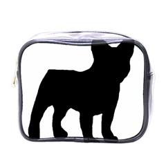 French Bulldog Silo Black Ls Mini Travel Toiletry Bag (One Side)