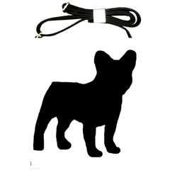 French Bulldog Silo Black Ls Shoulder Sling Bag